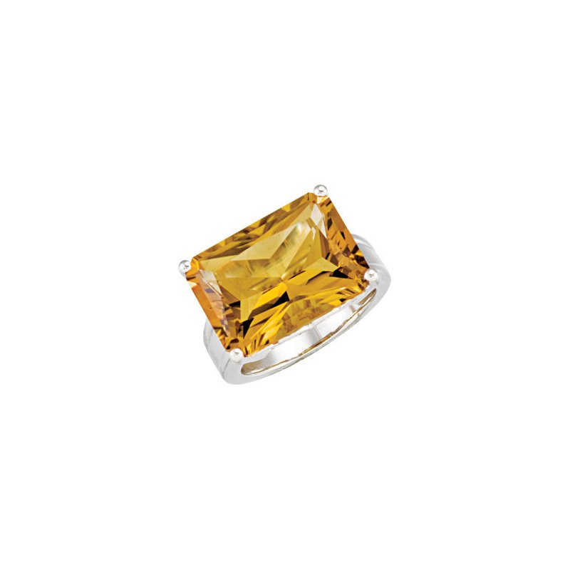 Holiday Ideas Genuine Honey Quartz Ring