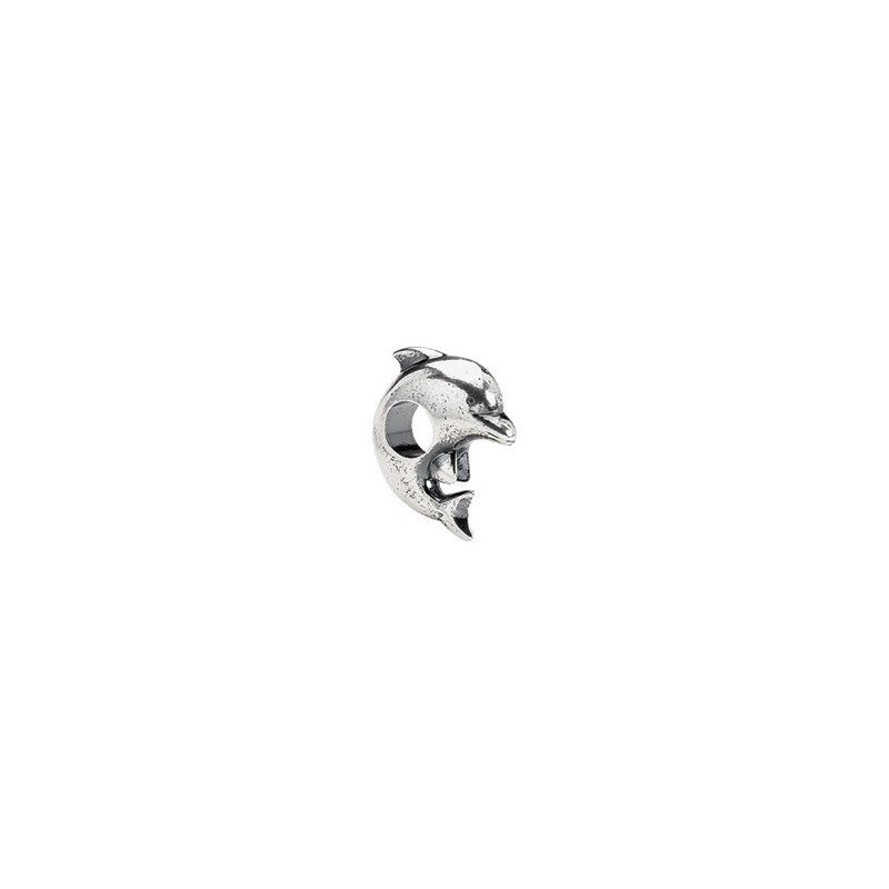 Holiday Ideas Kera Sterling Silver Dolphin Bead