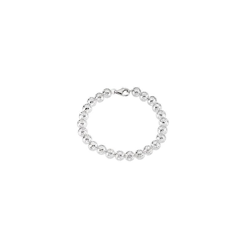 Ladies' Jewelry Pierced Heart Bead Bracelet