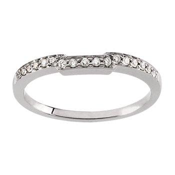 1/6 ct tw Diamond Wedding Band