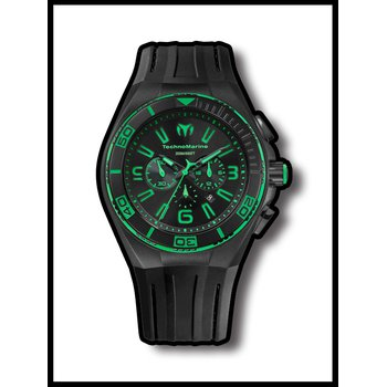 TechnoMarine Watch Cruise Night Vision II Green