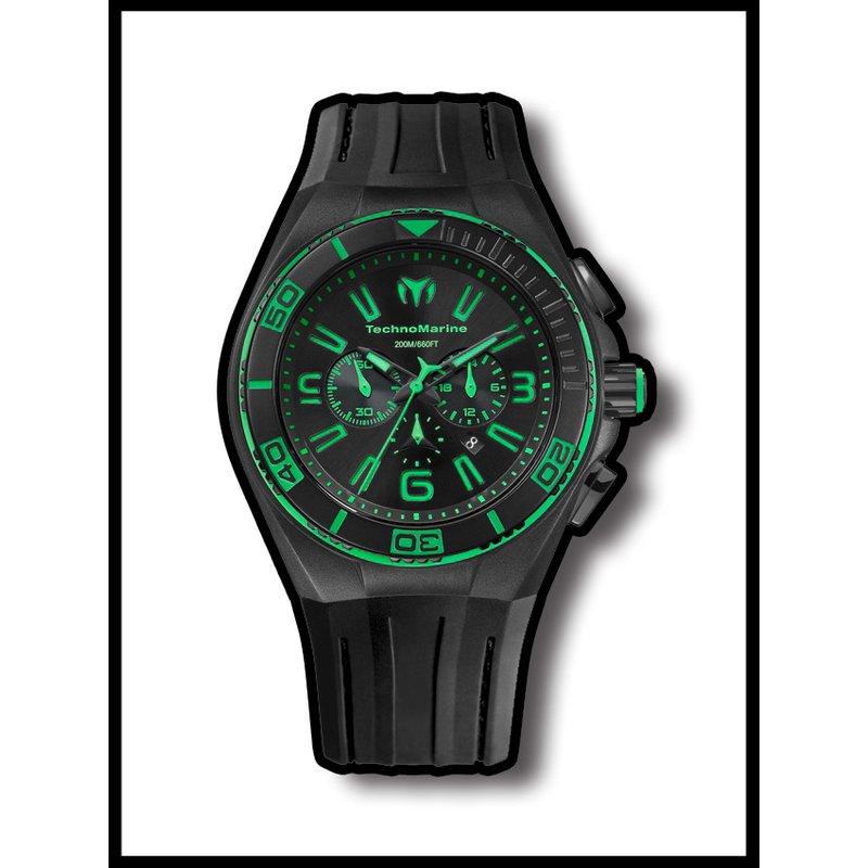 TechnoMarine TechnoMarine Watch Cruise Night Vision II Green