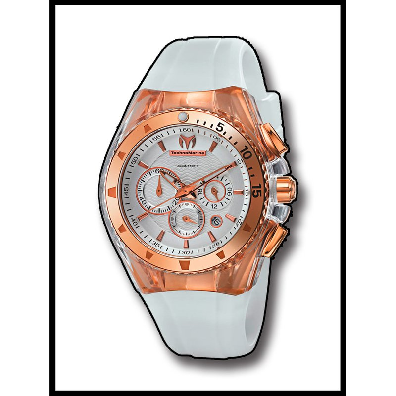 TechnoMarine TechnoMarine Watch Cruise Star-White