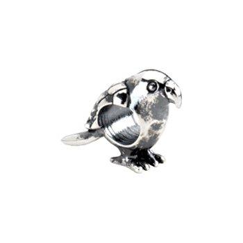 Kera Sterling Silver Parrot Bead