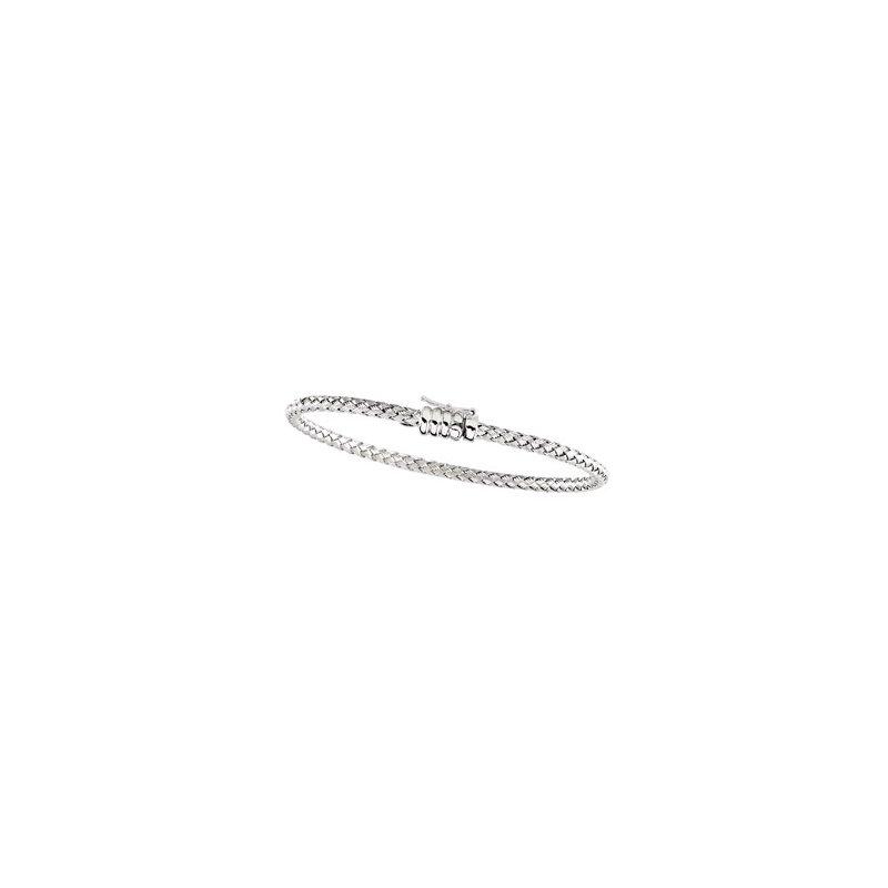 Ladies' Jewelry Basket Weave Bracelet