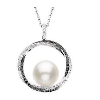 South Sea Cultured Pearl & Diamond Necklace