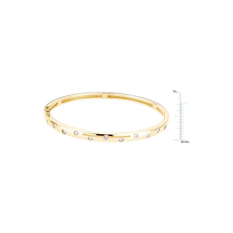 Ladies' Jewelry Diamond Bangle Bracelet