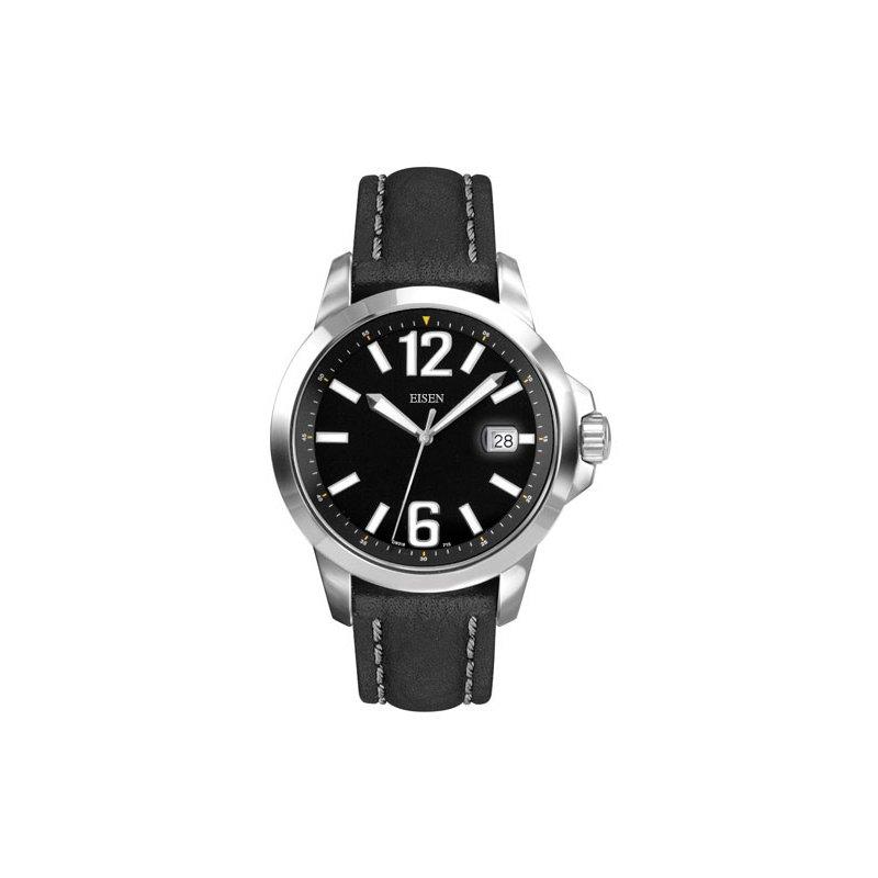 Eisen Watches Eisen Gent's Stainless Steel Sports Quartz Wrist Watch