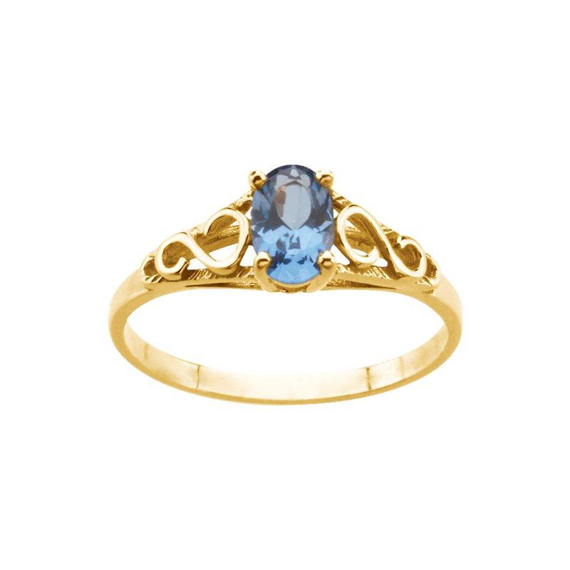 Birthstone Jewelry Teen Imitation December Birthstone Ring