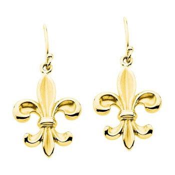 Fleur-di-lis Earrings