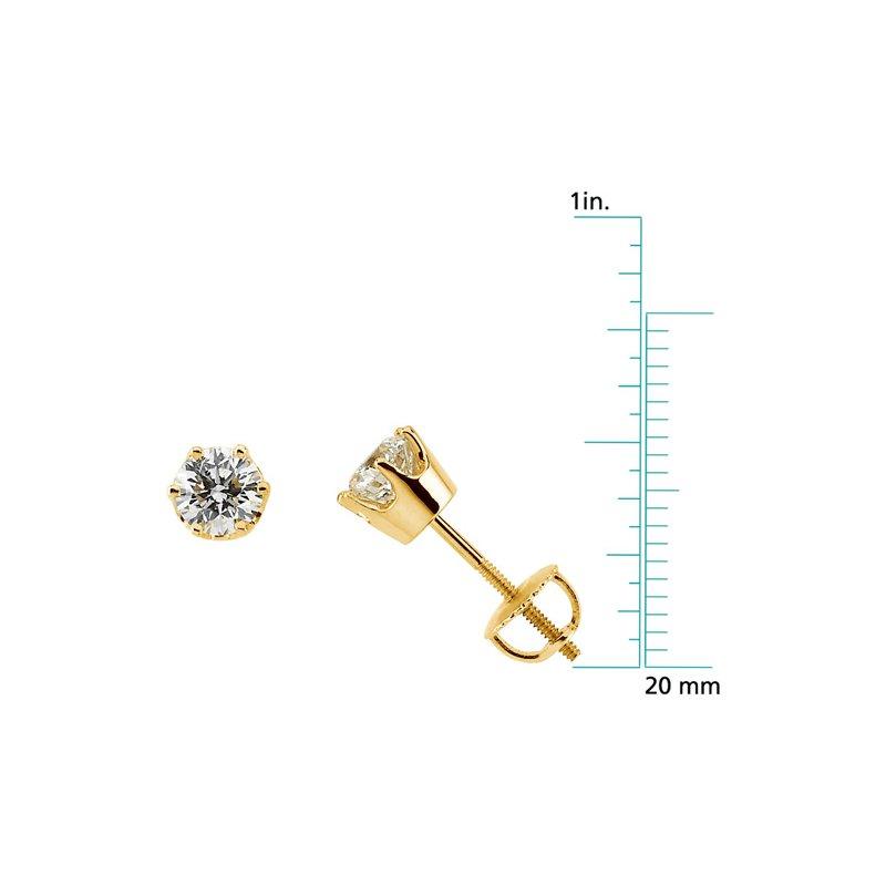 Ladies' Jewelry Diamond Stud Earrings