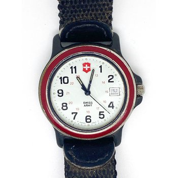 Gent's stainless steel Swiss Army Watch