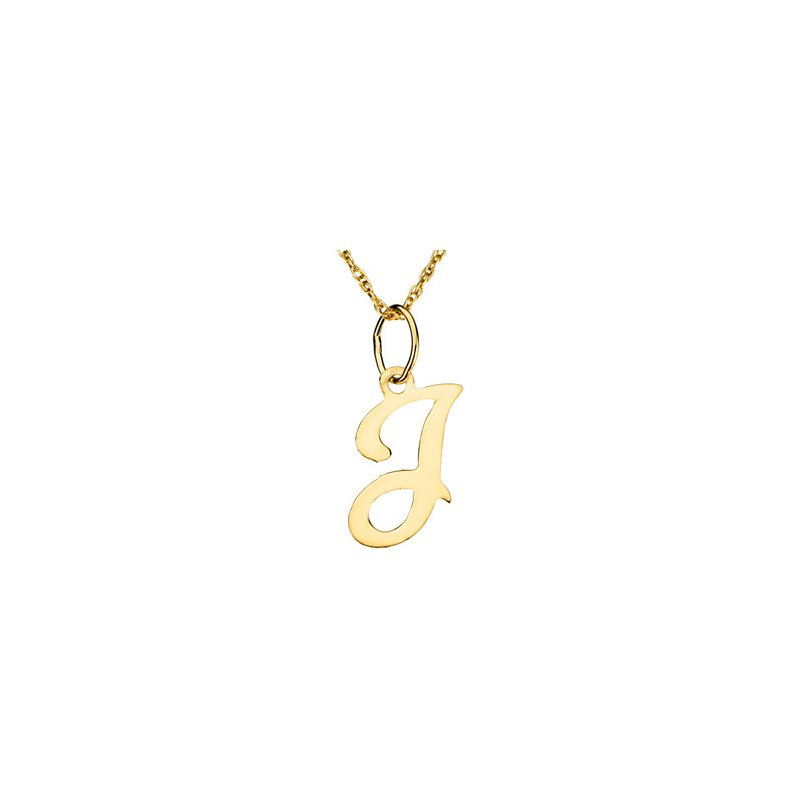 "Ladies' Jewelry Initial ""J"" Necklace"