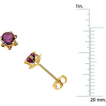 Teen June Birthstone Earrings