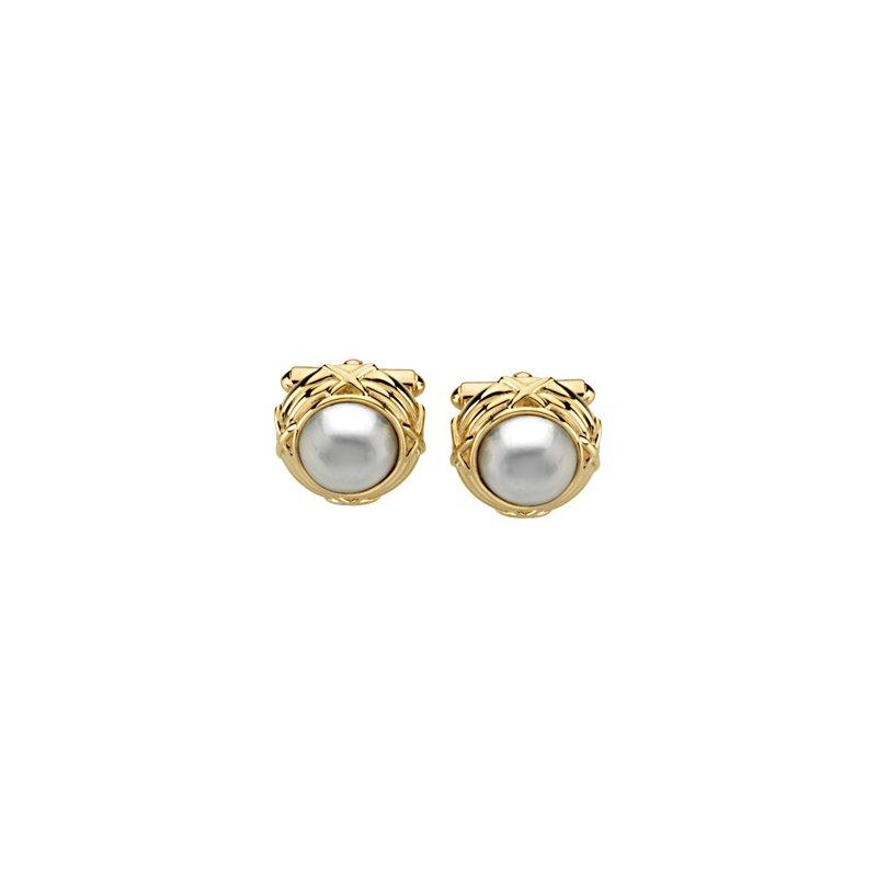 Men's Jewelry Mab? Cultured Pearl Cufflinks