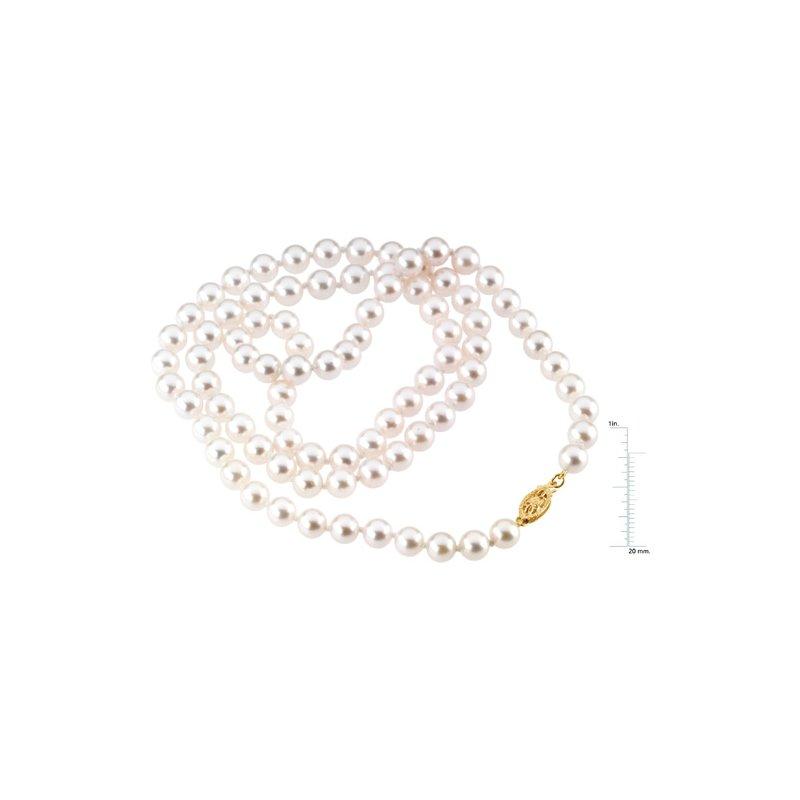 Ladies' Jewelry 24-inch Akoya Cultured Pearl Strand