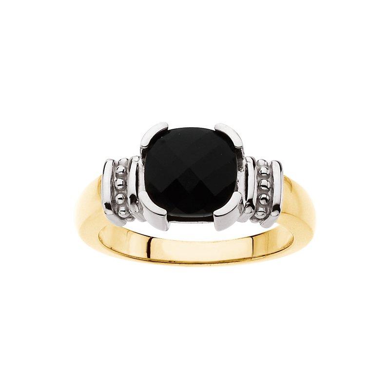 Ladies' Jewelry Genuine Onyx Ring