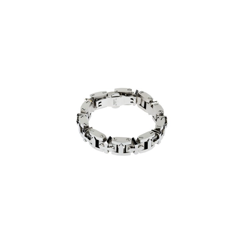 Holiday Ideas Stainless Steel Cross Bracelet
