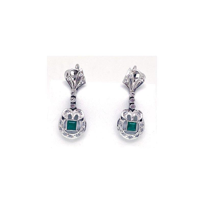 Estate & Vintage Lady's vintage dangle earrings