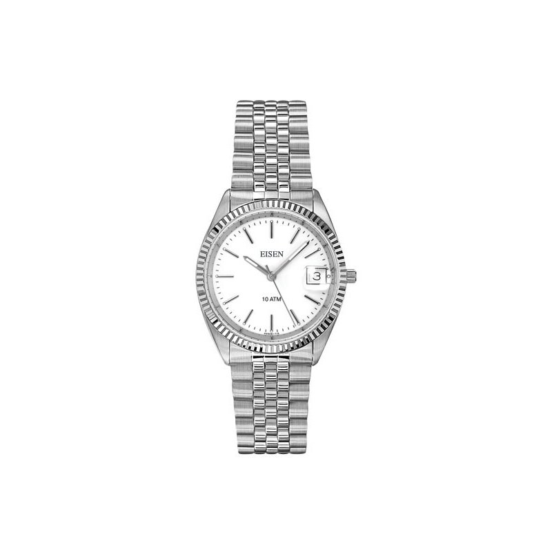 Eisen Watches Eisen Gent's Stainless Steel Quartz Wrist Watch