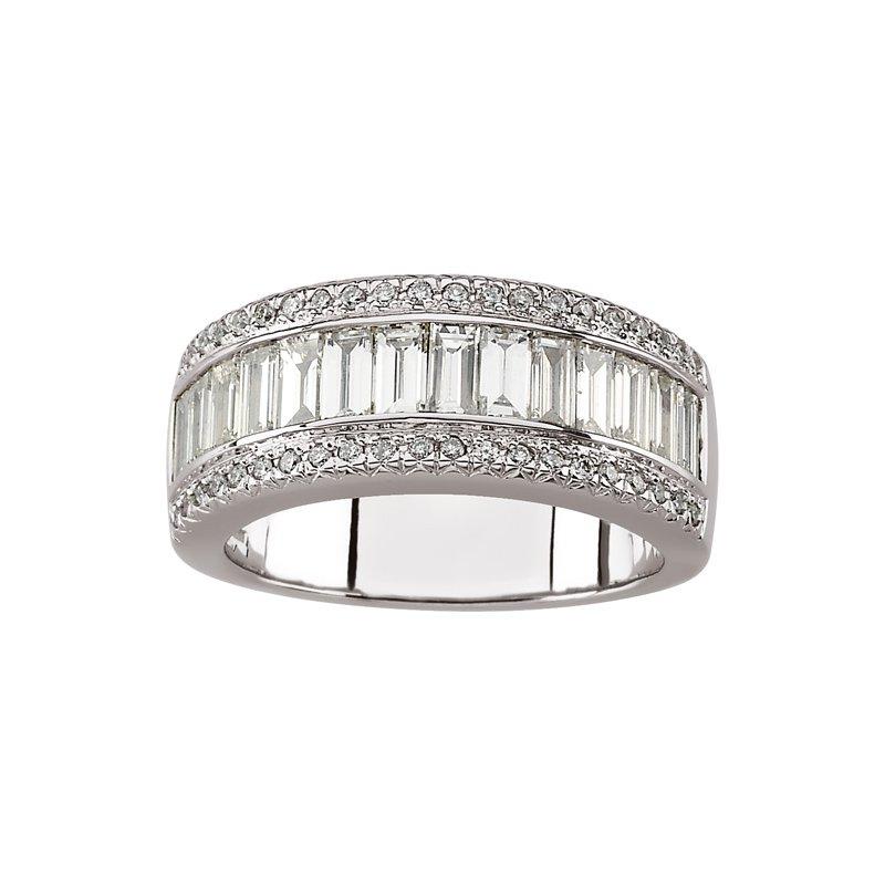 Susan Eisen Diamond Wedding Band