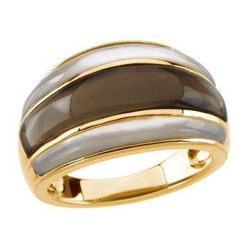 Genuine Multi Gem-stone Ring