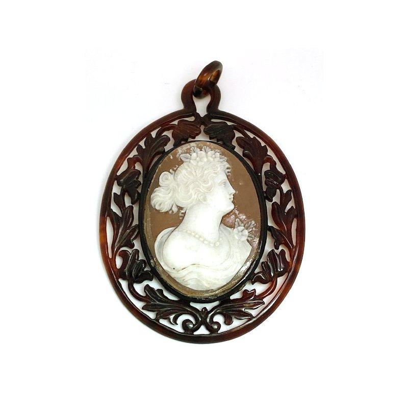 Estate & Vintage Lady's vintage Cameo pendant