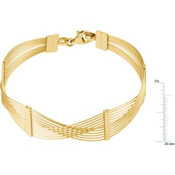 12-Strand Wire Bracelet