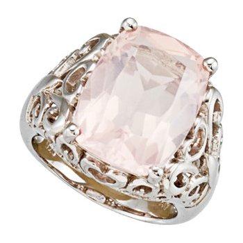 Genuine Rose Quartz Ring