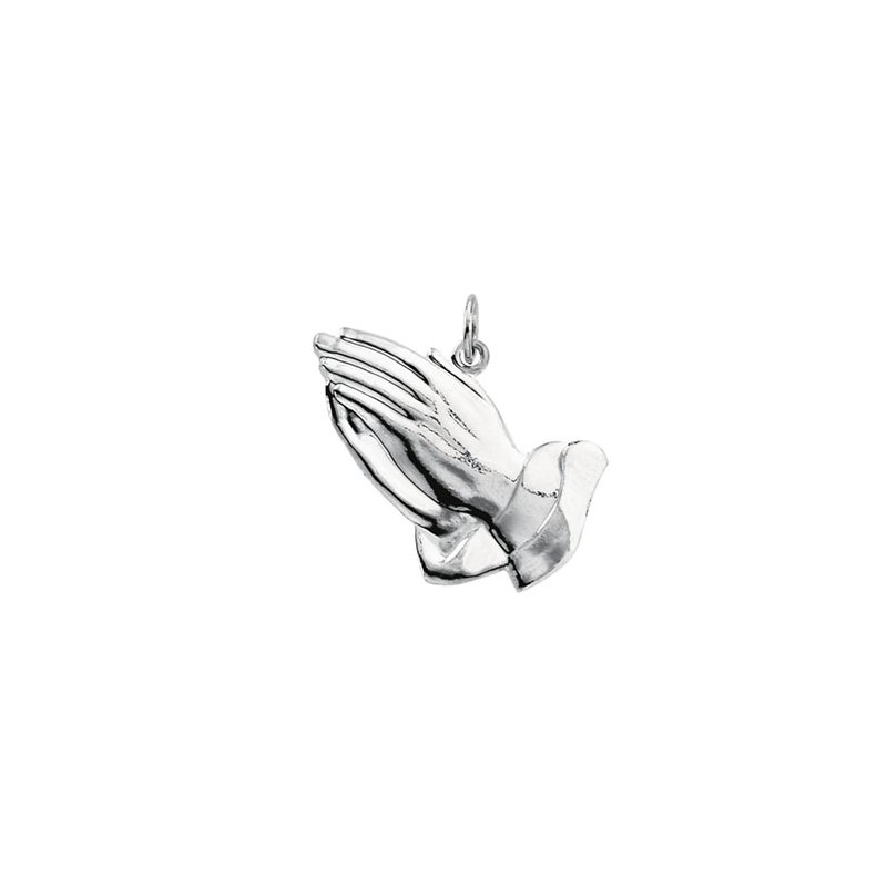 Religious Jewelry Praying Hands Pendant