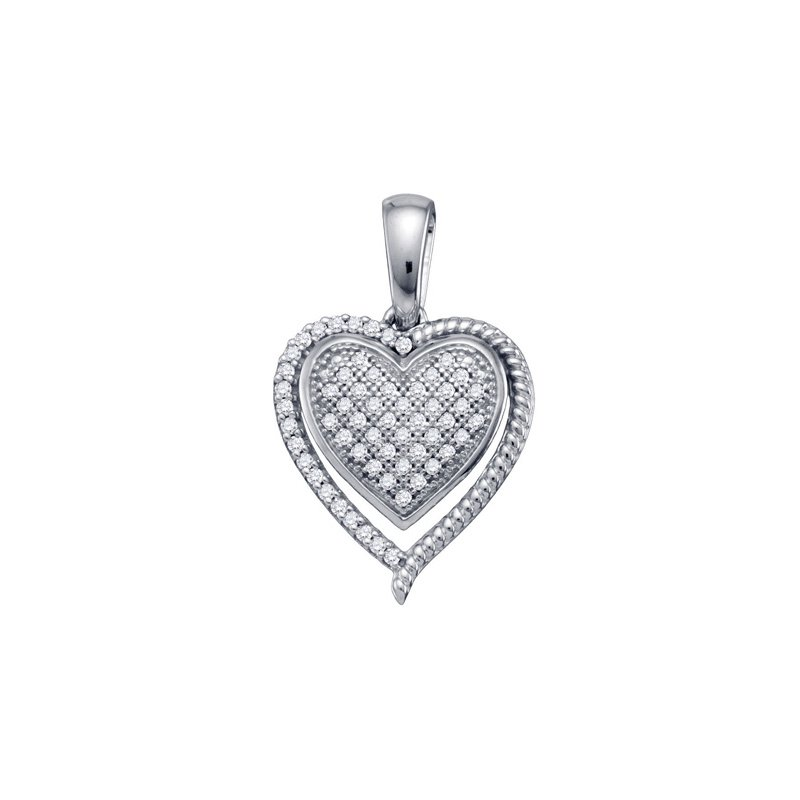 Valentine Gift Ideas Diamond Heart Pendant