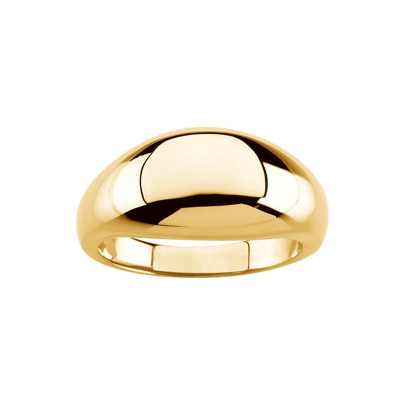 Ladies' Jewelry Gold Dome Ring