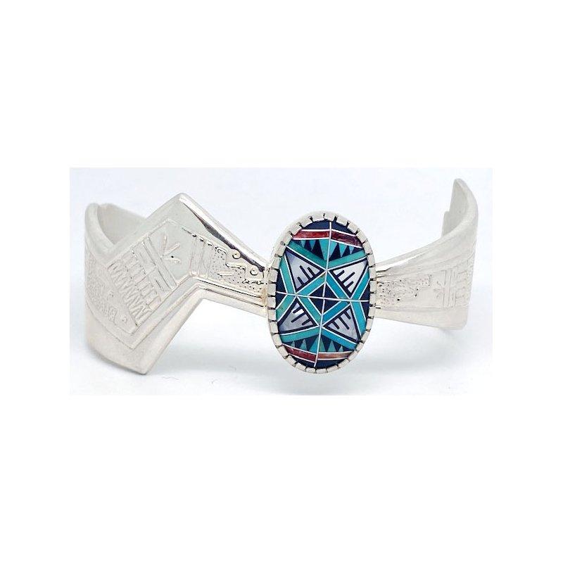 Vintage Silver Vintage Native American sterling silver bracelet