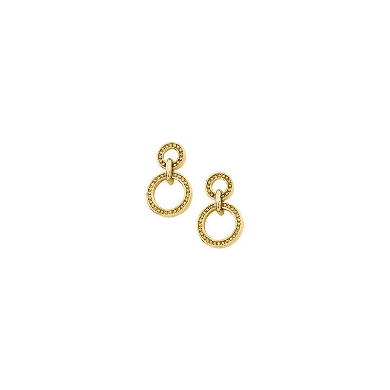 Ladies' Jewelry Double Circle Earrings