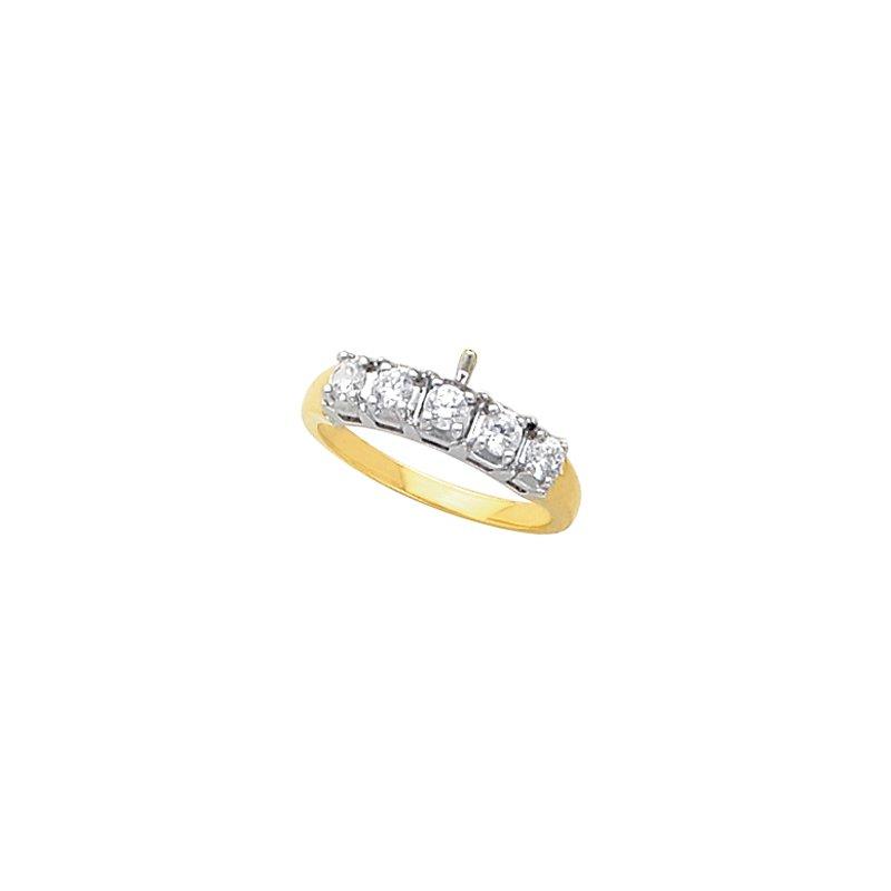 Susan Eisen 1/3 ct tw Diamond Wedding Band