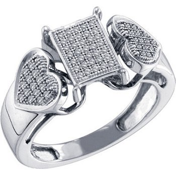 Diamond Micro-Pave Ring