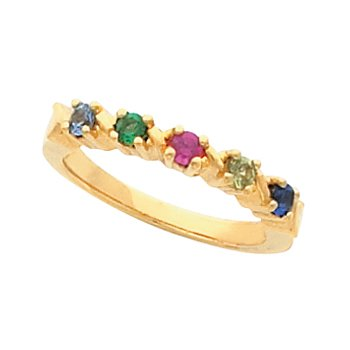 Ring for Mom (1 to 5 stones)
