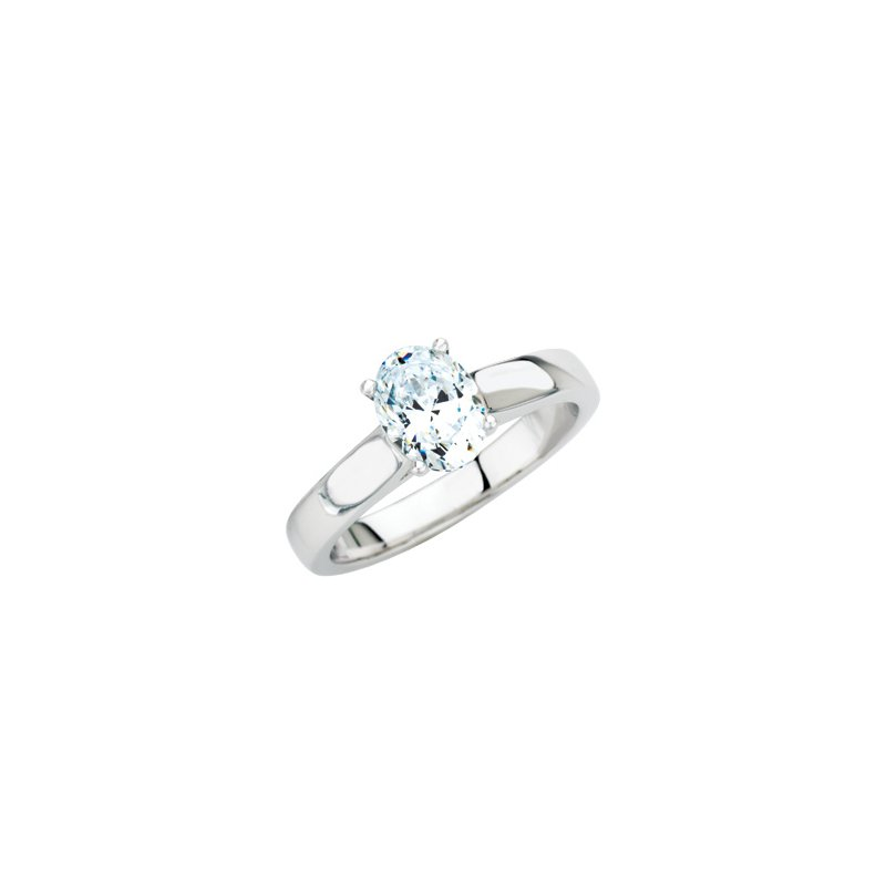 Holiday Ideas Semi-Mount Solitaire Engagement Ring