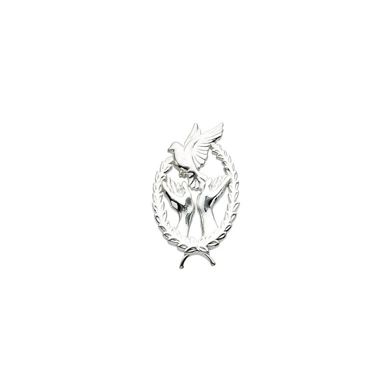 Religious Jewelry Wings of Remembrance (TM) lapel pin