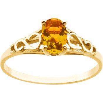 Teen Imitation November Birthstone Ring