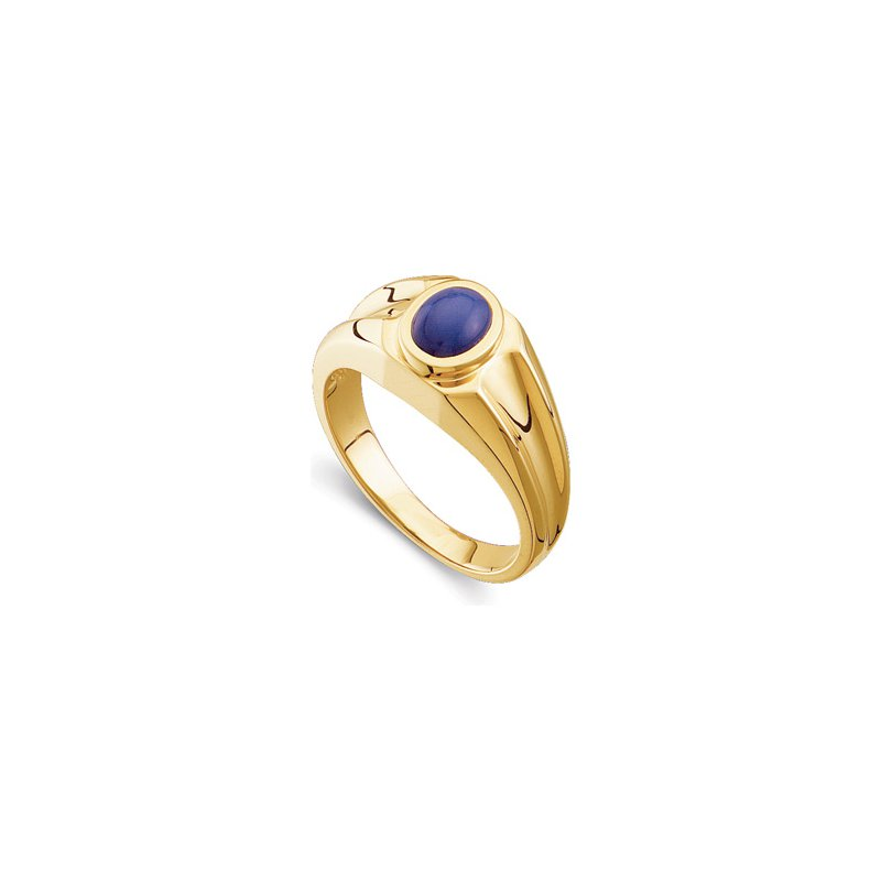 Men's Jewelry Men's Synthetic Blue Star Sapphire Ring
