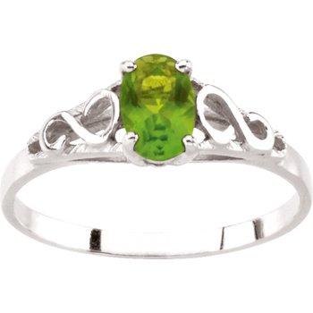 Teen Imitation August Birthstone Ring
