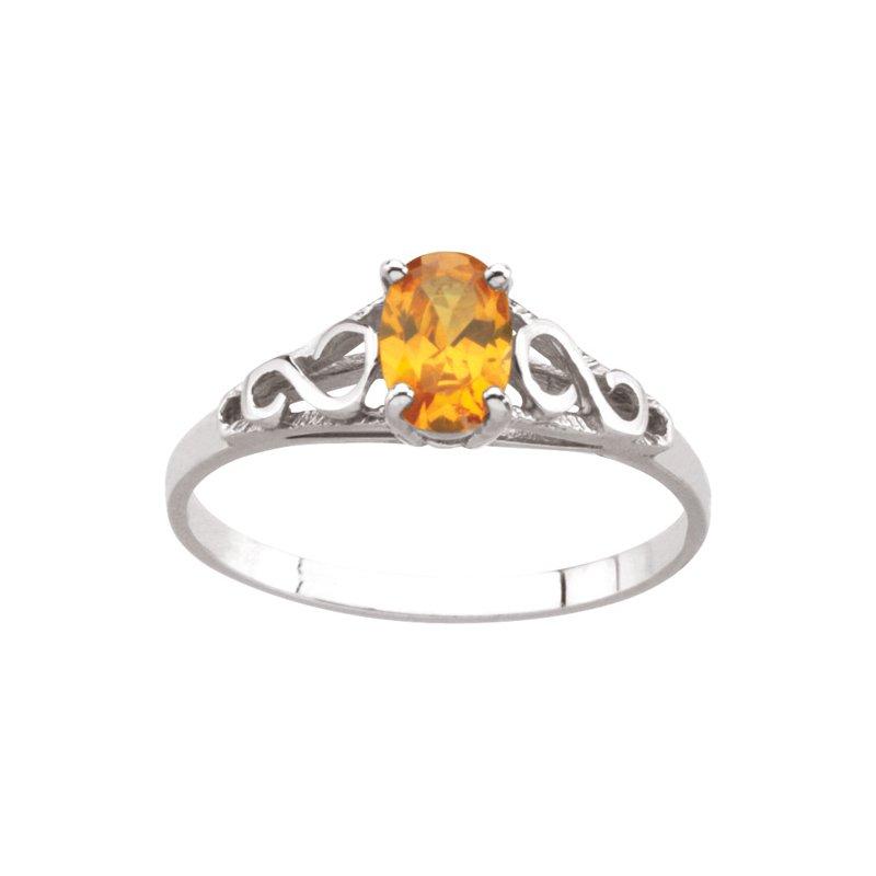Birthstone Jewelry Teen Imitation November Birthstone Ring