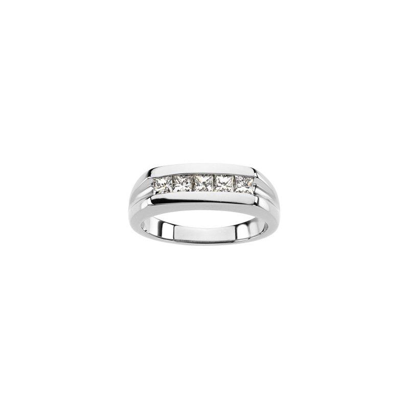 Men's Jewelry Men's Platinum Diamond Ring