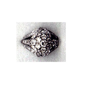 Vintage Ladies' Platinum and Diamond Cluster Ring