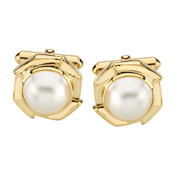 Mab? Cultured Pearl Cufflinks