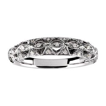 1/10 ct tw Diamond Wedding Band