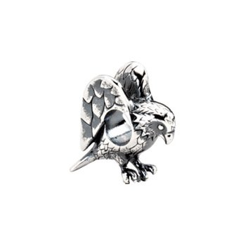 Kera Sterling Silver Eagle Bead