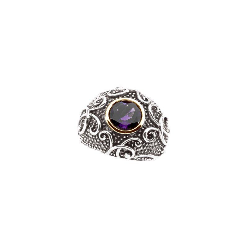 Ladies' Jewelry Genuine Amethyst Ring