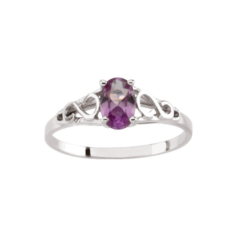 Birthstone Jewelry Teen Imitation January Birthstone Ring
